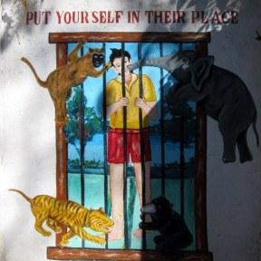 Do Not Tease Zoo Animals