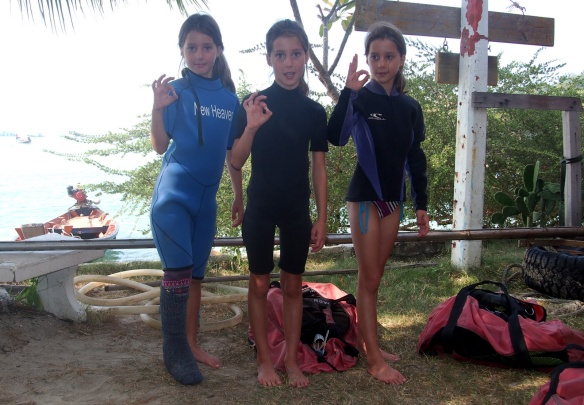 Ready to go diving