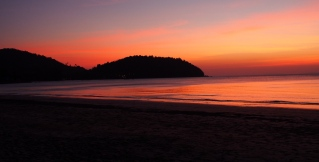 Sunset at Koh Chang