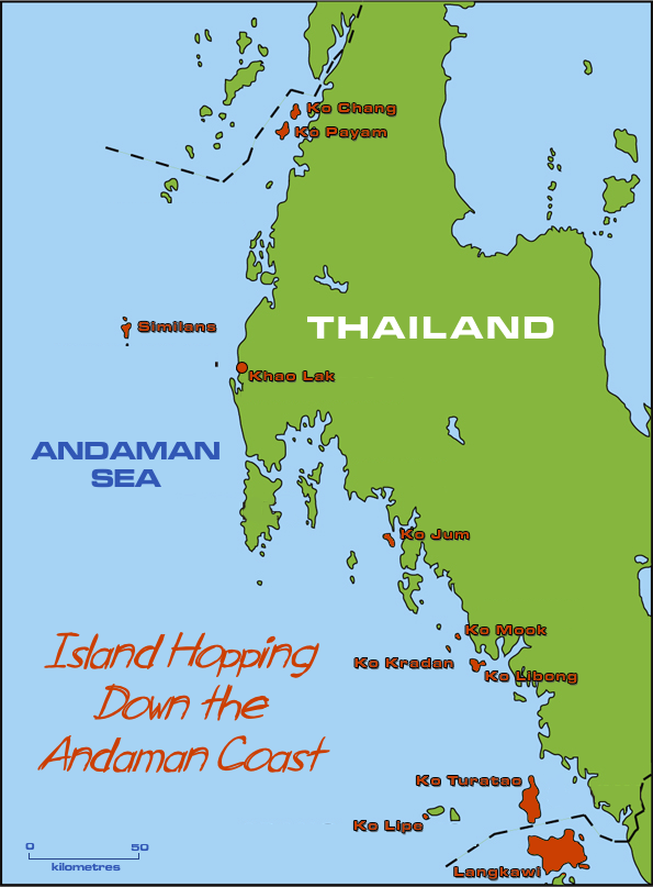 How Much Are Ferries To Thai Islands