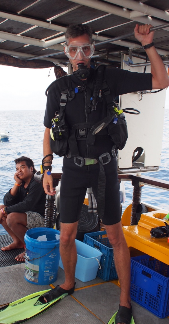 Ferg in Diving  Gear