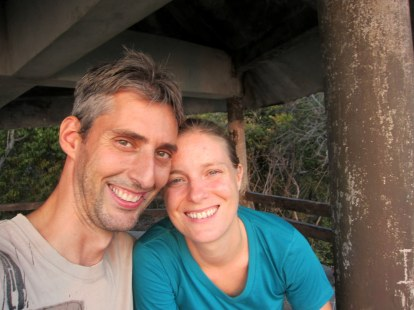 Me and Fergus: Happy to be back in Ko Tarutao