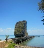 East coast of Ko Tarutao, close to the former prison site