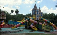 The playground in Lakeside Gardens