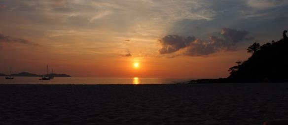 Sunset at Had Farang
