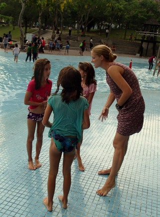 Paddling pool!