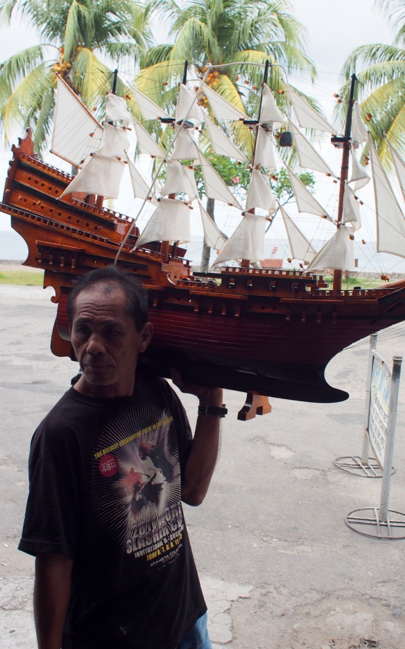 Man with a Ship on his Shoulder