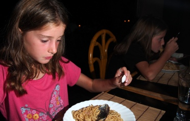Scarlett is Suspicious About Sea Urchin Pasta