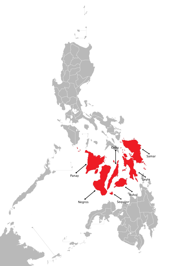 The Visayas, the Philippines