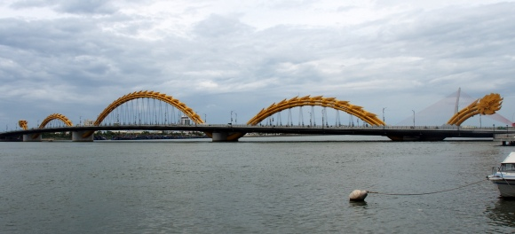 The awesome dragon bridge in Da Nang
