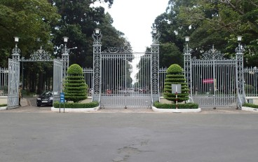 ...went through these gates!