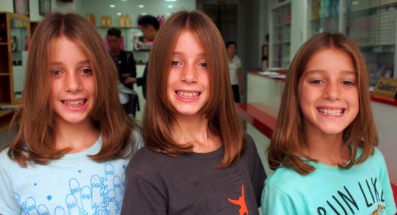 Jemima, Scarlett, Evie