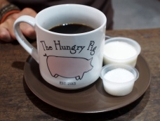 Big mugs of tea or coffee