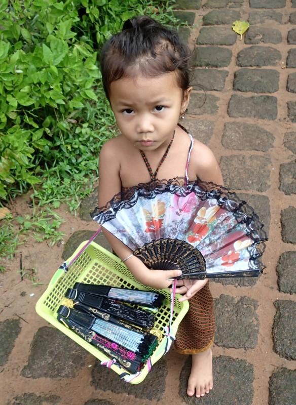 Cambodian Street Seller