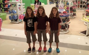 New Crocs from the massive CentreWorld mall in Bangkok